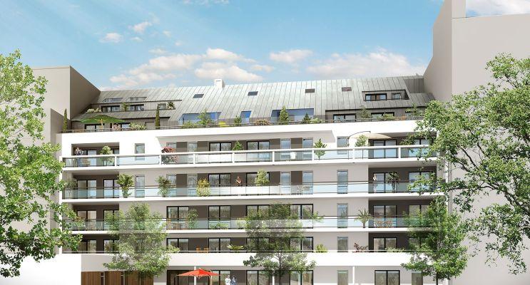 Photo n°1 du Résidence « Le Cours Félibien » programme immobilier neuf en Loi Pinel à Nantes
