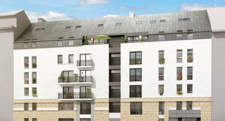 Photo n°2 du Résidence « Le Cours Félibien » programme immobilier neuf en Loi Pinel à Nantes