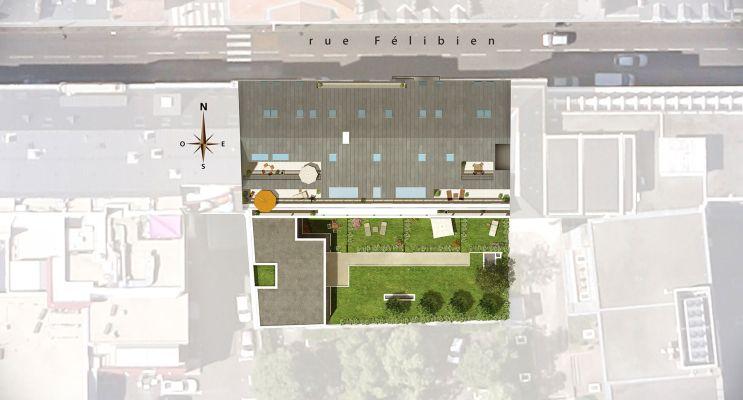 Photo n°3 du Résidence « Le Cours Félibien » programme immobilier neuf en Loi Pinel à Nantes