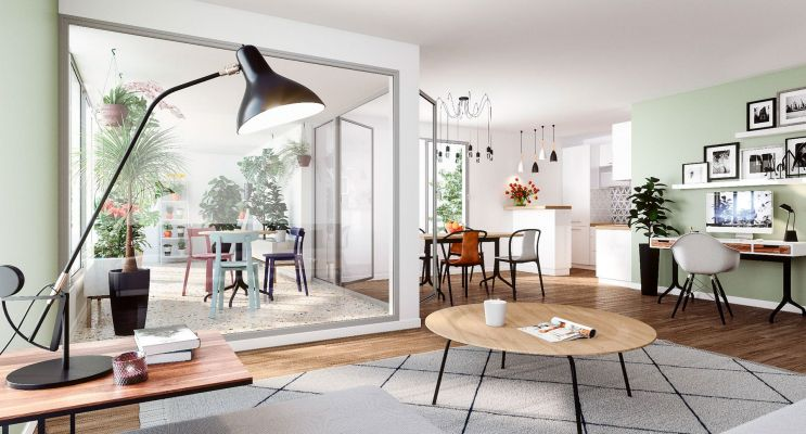 Résidence « Le Flore » programme immobilier neuf en Loi Pinel à Nantes n°3