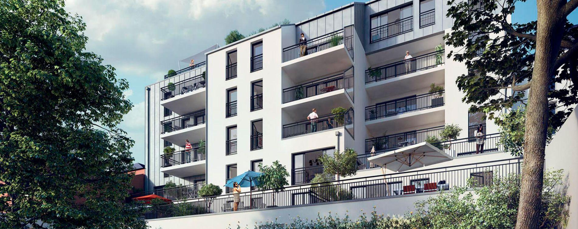 Nantes : programme immobilier neuve « Le Pavillon Saint Louis » en Loi Pinel (2)
