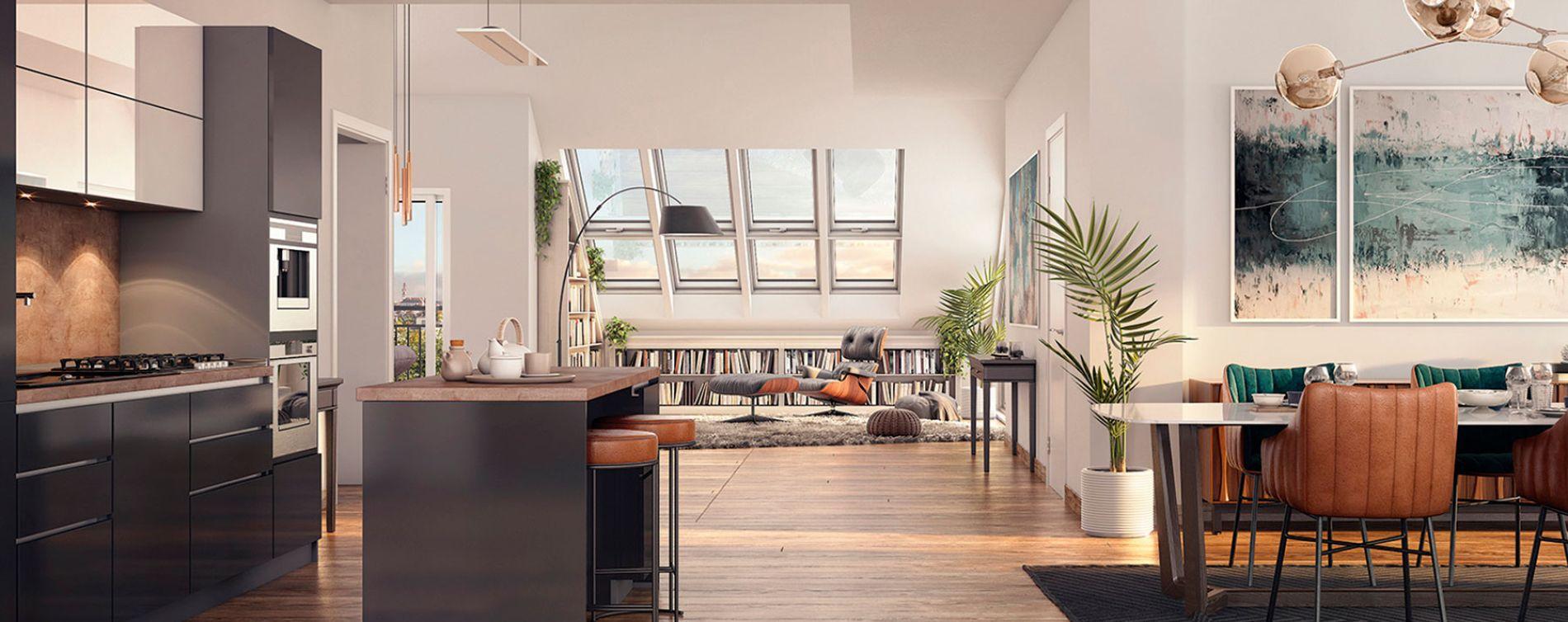 Nantes : programme immobilier neuve « Le Pavillon Saint Louis » en Loi Pinel (5)