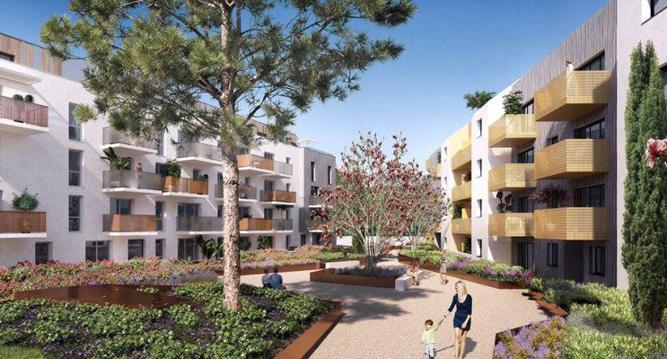 Photo n°1 du Résidence « Les Amarantes » programme immobilier neuf en Loi Pinel à Nantes