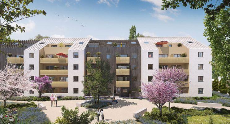 Photo n°2 du Résidence « Les Amarantes » programme immobilier neuf en Loi Pinel à Nantes