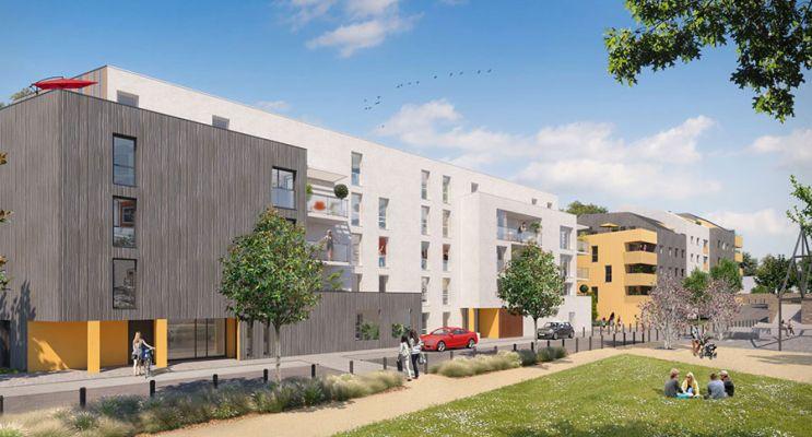 Photo n°3 du Résidence « Les Amarantes » programme immobilier neuf en Loi Pinel à Nantes