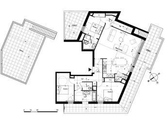 appartement t4 nantes n 937 ouest programme neuf les belles lettres. Black Bedroom Furniture Sets. Home Design Ideas