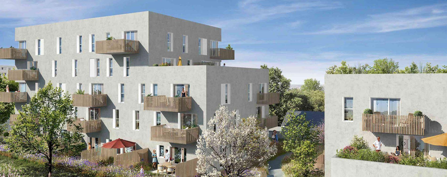 Nantes : programme immobilier neuve « Les Jardins d'Antoine » en Loi Pinel (2)