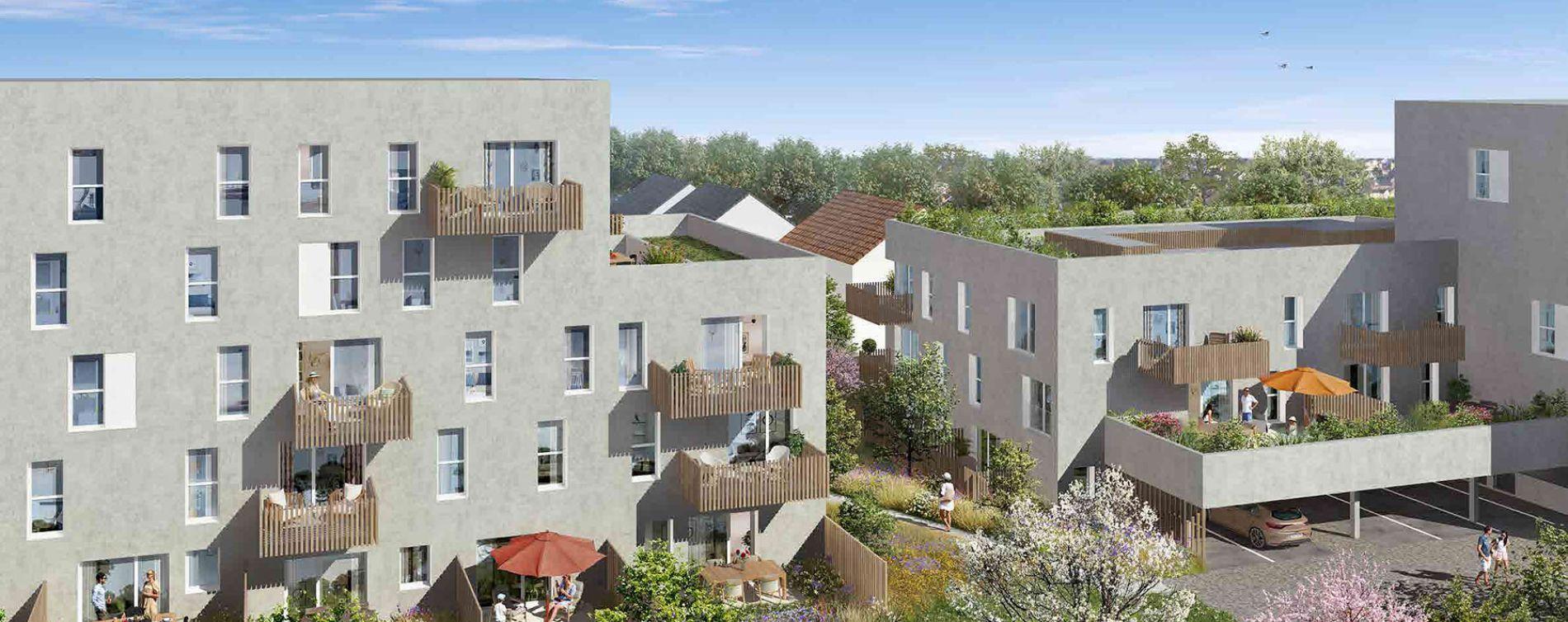 Nantes : programme immobilier neuve « Les Jardins d'Antoine » en Loi Pinel (3)