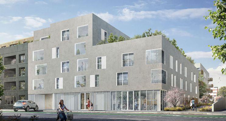 Photo du Résidence « Les Jardins d'Antoine » programme immobilier neuf en Loi Pinel à Nantes
