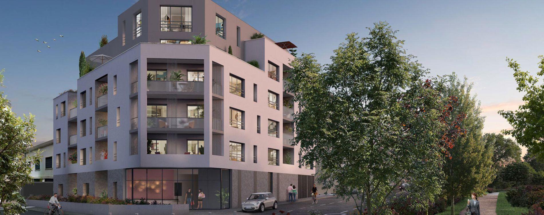 Nantes : programme immobilier neuve « L'Exception » en Loi Pinel (3)