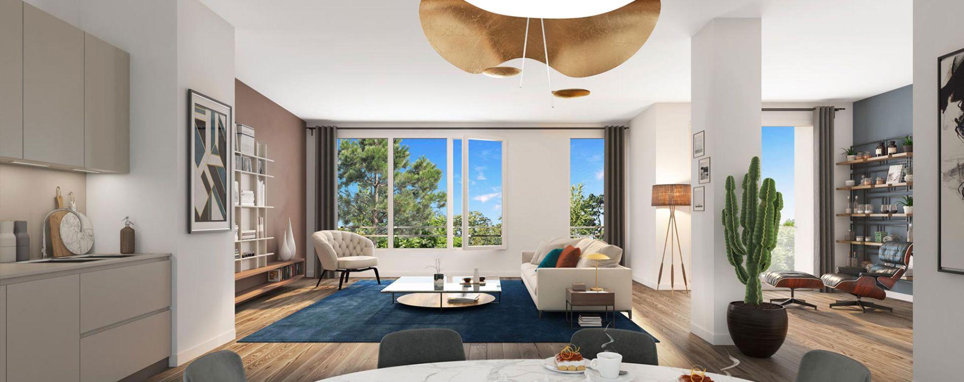 Nantes : programme immobilier neuve « L'Exeption - Nue-Propriété » en Nue Propriété (4)