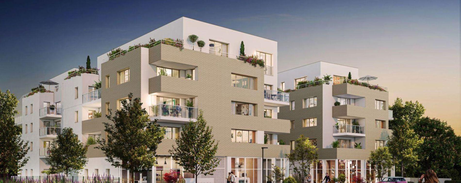 Nantes : programme immobilier neuve « L'Inédit » en Loi Pinel