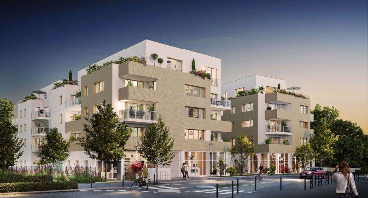 Nantes : programme immobilier neuf « L'Inédit » en Loi Pinel