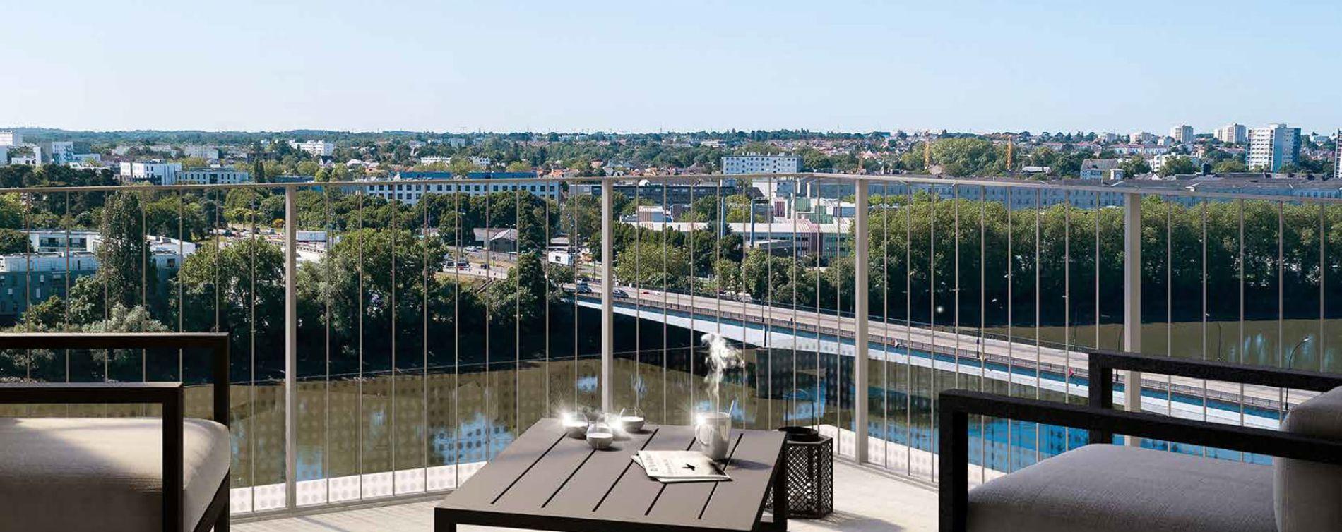 Nantes : programme immobilier neuve « Loire en Scène »