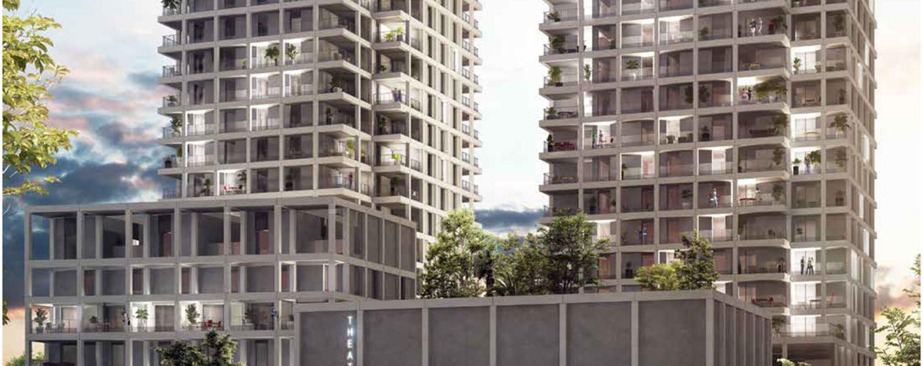 Nantes : programme immobilier neuve « Loire en Scène » (2)