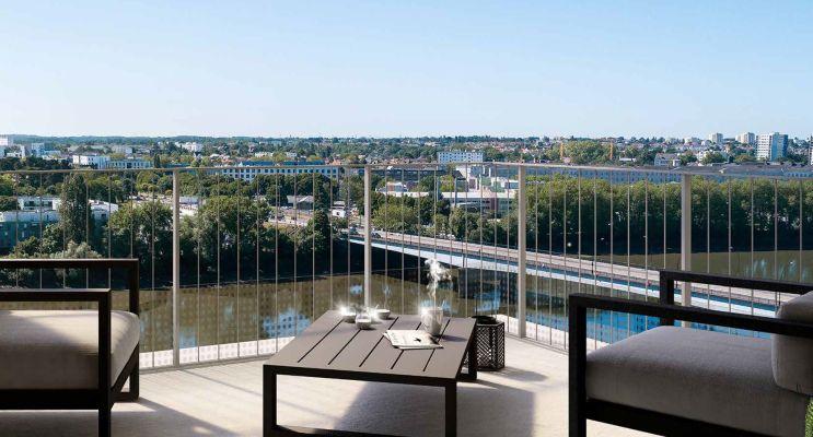 Photo du Résidence « Loire en Scène » programme immobilier neuf en Loi Pinel à Nantes