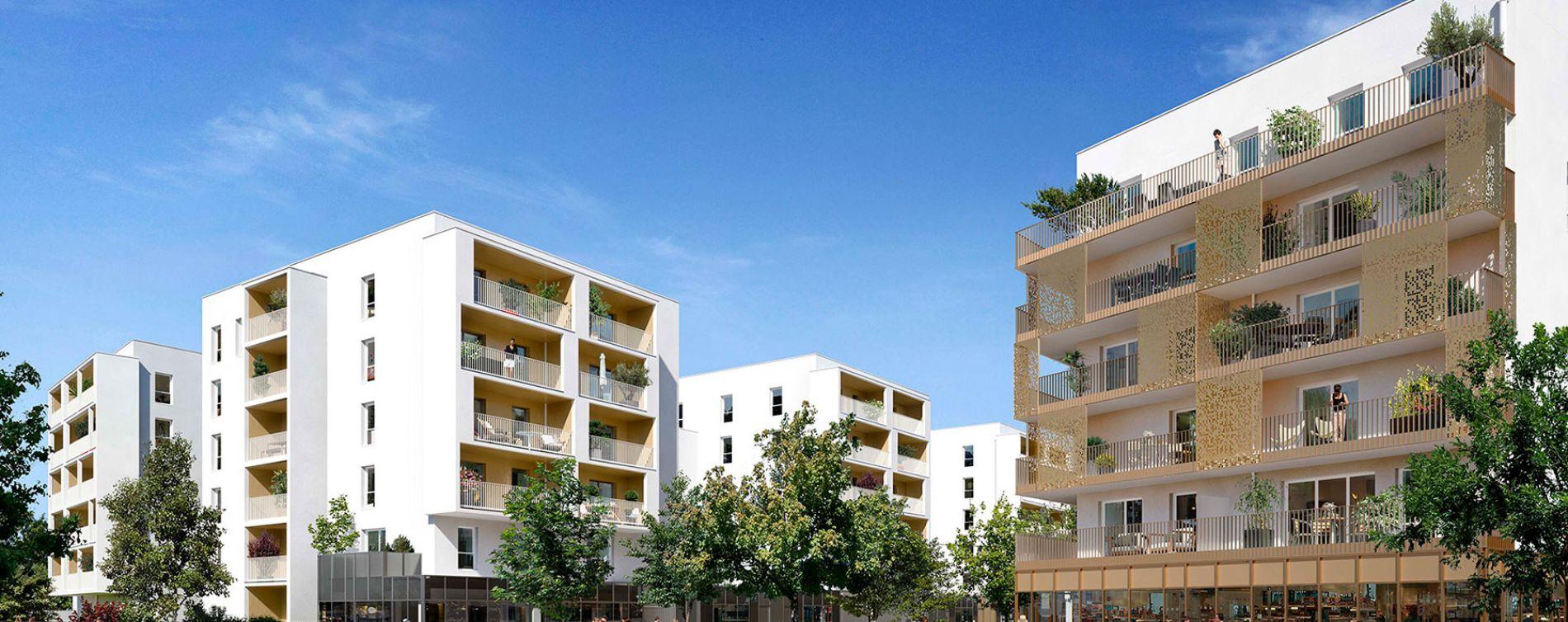 Nantes : programme immobilier neuve « Neowise » en Loi Pinel
