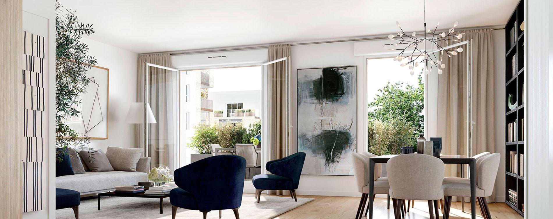 Nantes : programme immobilier neuve « Neowise » en Loi Pinel (2)