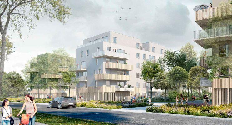 Photo du Résidence « Nuances de l'Erdre » programme immobilier neuf en Loi Pinel à Nantes