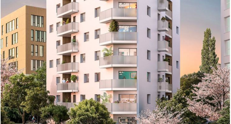 Photo du Résidence « O'Delta » programme immobilier neuf en Loi Pinel à Nantes