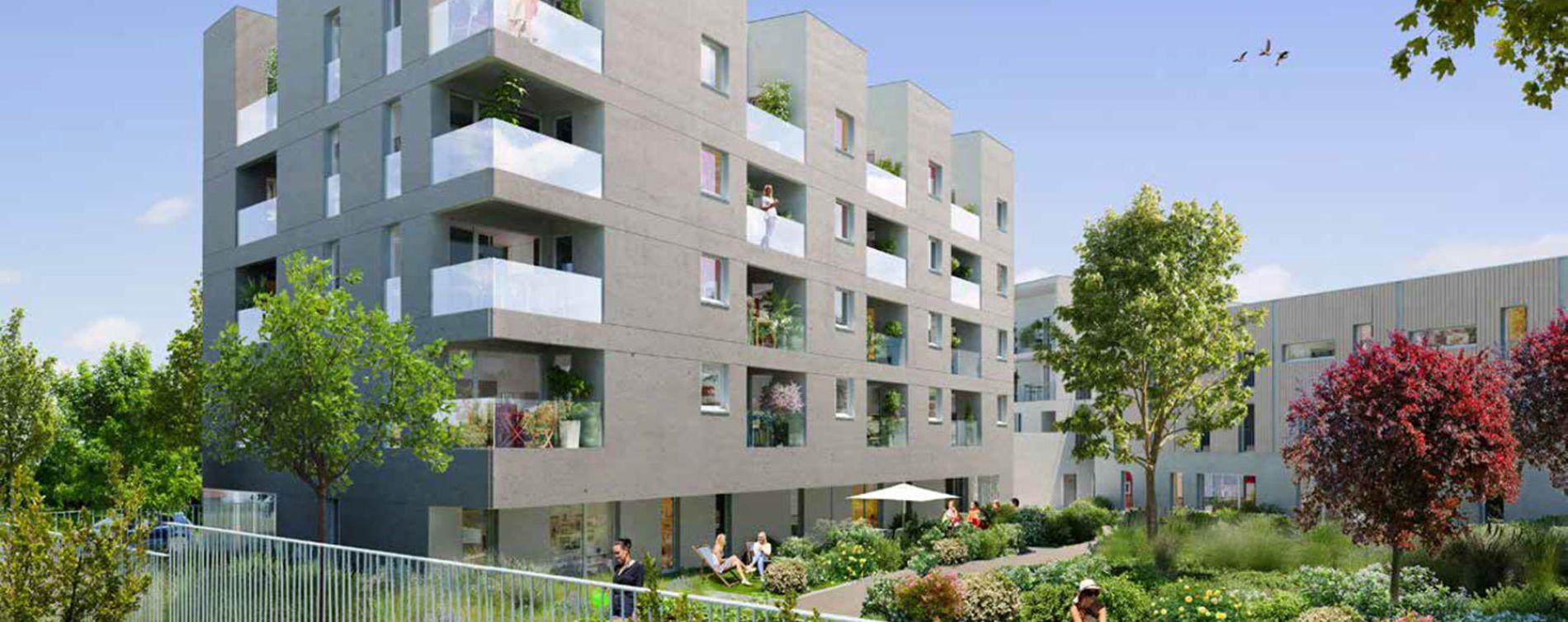 Nantes : programme immobilier neuve « Orchestra » en Loi Pinel (2)