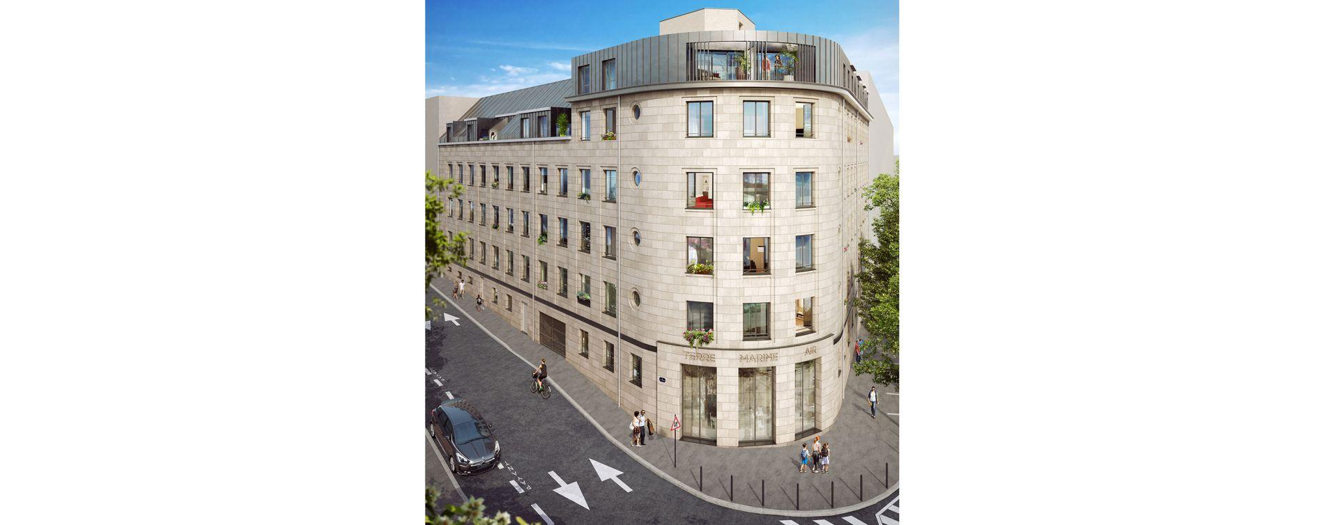 Nantes : programme immobilier à rénover « Pavillon Cambronne » en Loi Malraux (2)