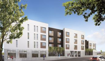 Nantes programme immobilier neuf « Pixel II »