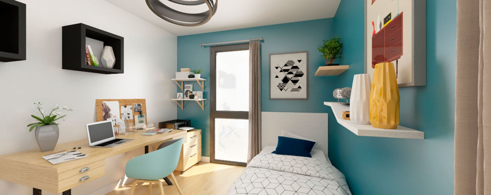 Nantes : programme immobilier neuve « Pixel » (3)