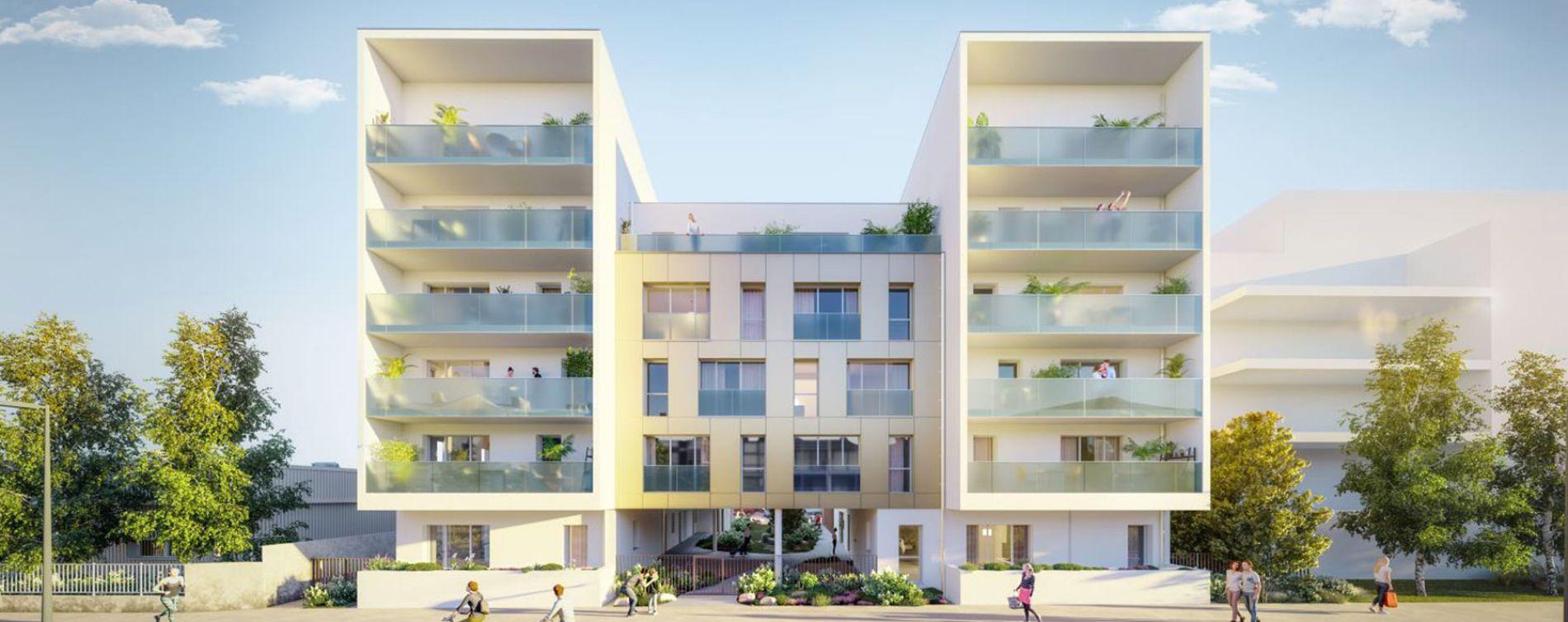 Nantes : programme immobilier neuve « Respiration » en Loi Pinel