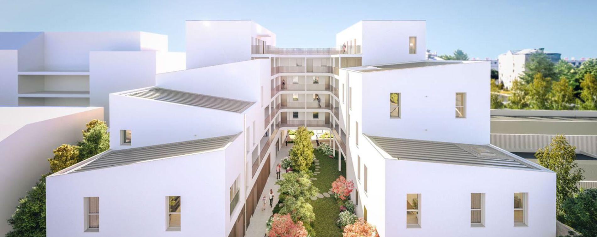 Nantes : programme immobilier neuve « Respiration » en Loi Pinel (2)