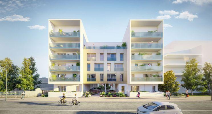 Nantes : programme immobilier neuf « Respiration » en Loi Pinel