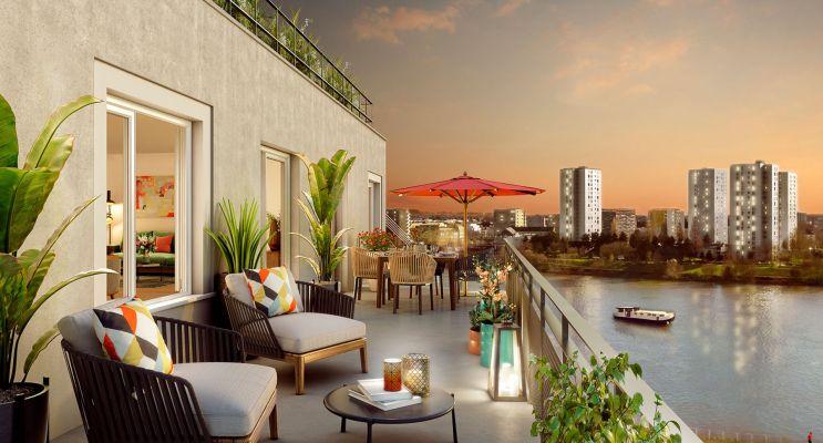 Photo du Résidence « Rive de Loire » programme immobilier neuf en Loi Pinel à Nantes