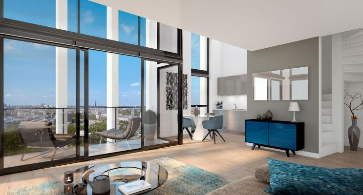 Résidence « Skyhome » programme immobilier neuf en Loi Pinel à Nantes n°1