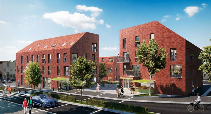 Résidence « Square Saint-Yves » programme immobilier neuf en Loi Pinel à Nantes n°1
