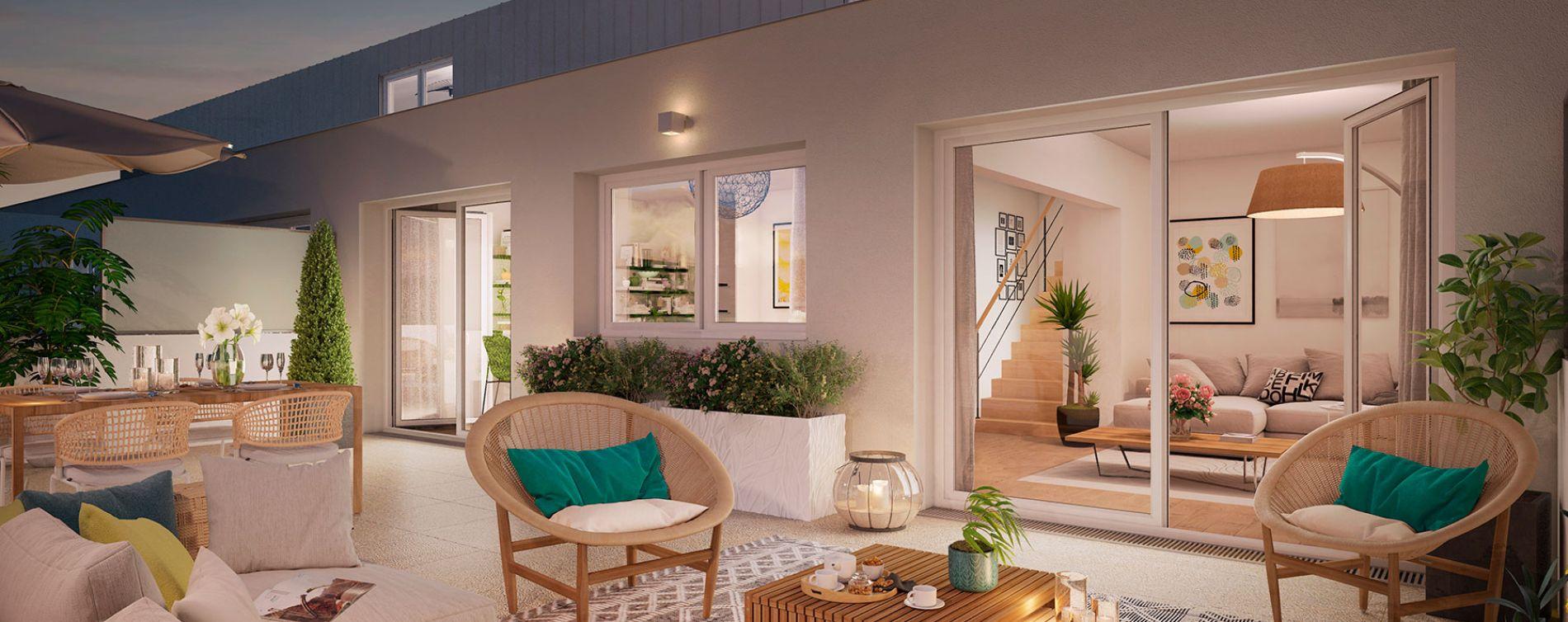 Nantes : programme immobilier neuve « Urban Way »