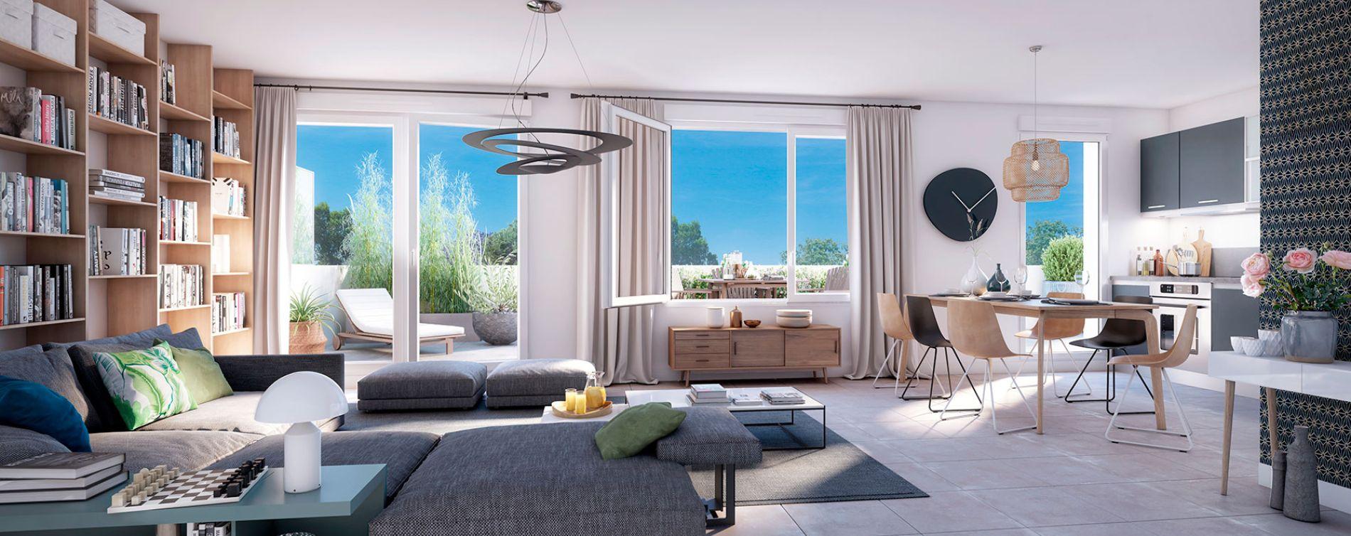 Nantes : programme immobilier neuve « Urban Way » (3)