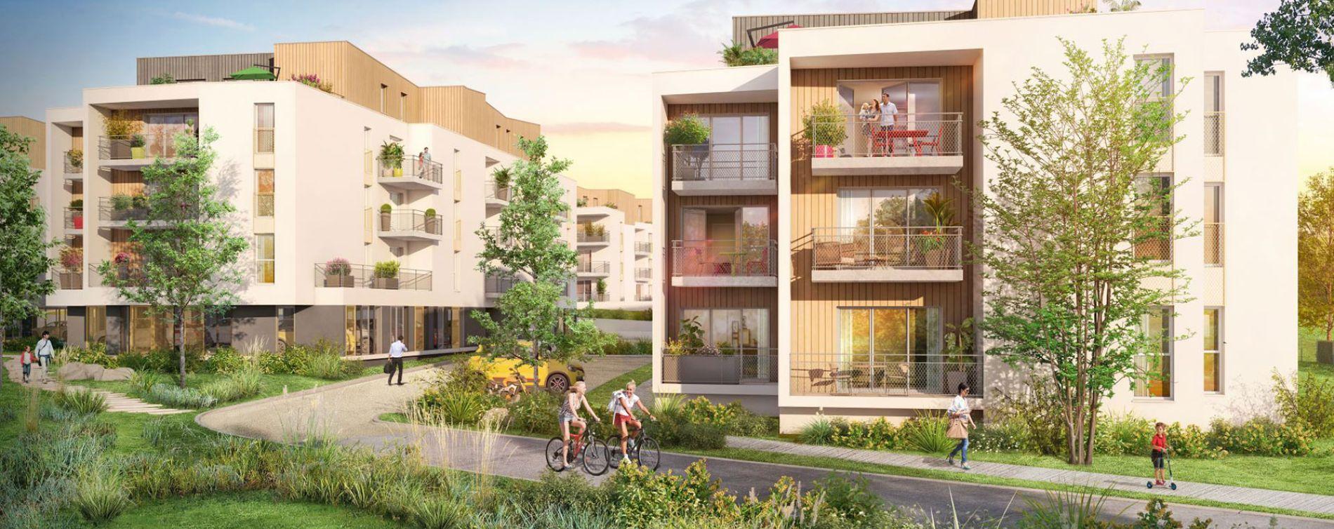 Nort-sur-Erdre : programme immobilier neuve « Coeur Bocage »