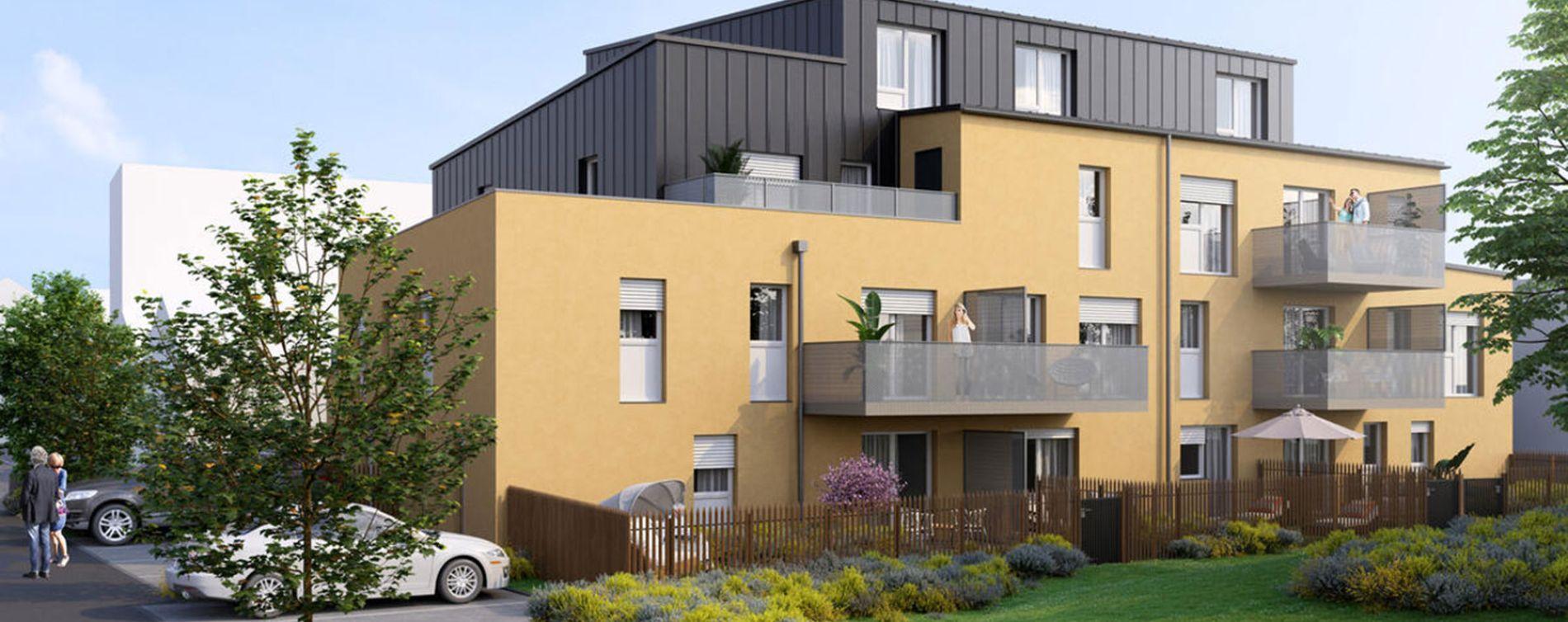 Paimbœuf : programme immobilier neuve « Carré Prévert »