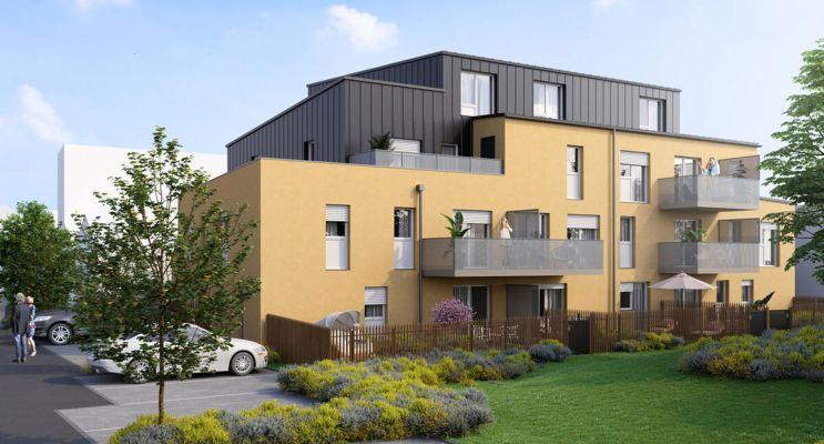 Paimbœuf : programme immobilier neuf « Carré Prévert »