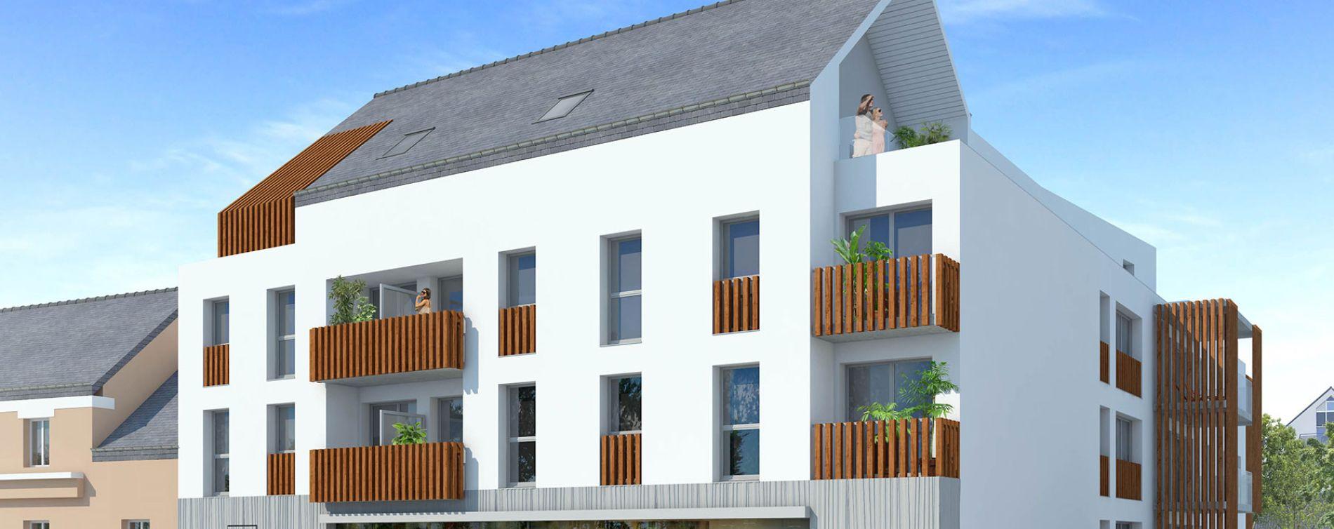 Pontchâteau : programme immobilier neuve « L'Eden Roc »