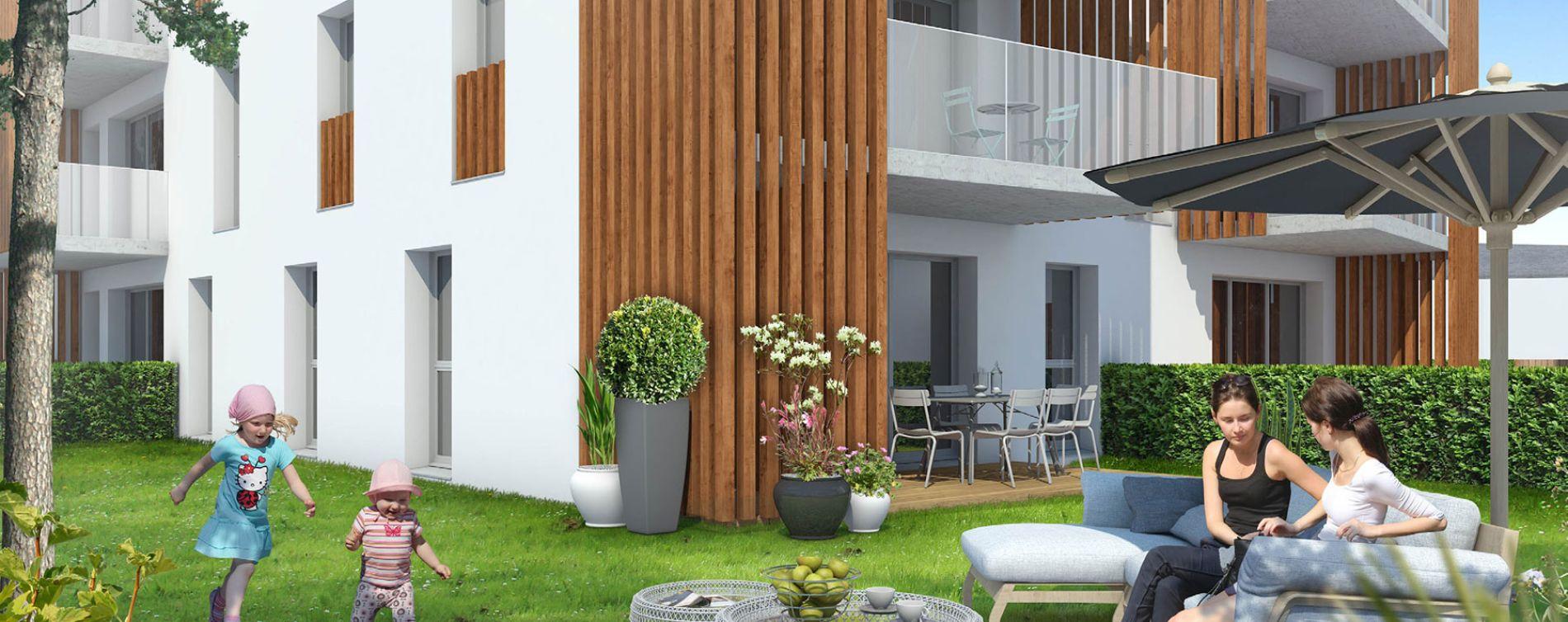 Pontchâteau : programme immobilier neuve « L'Eden Roc » (2)