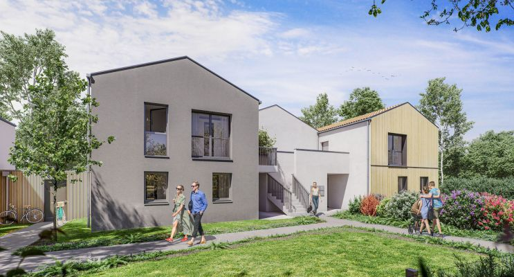 Pornichet programme immobilier neuf « Eden Cape » en Loi Pinel