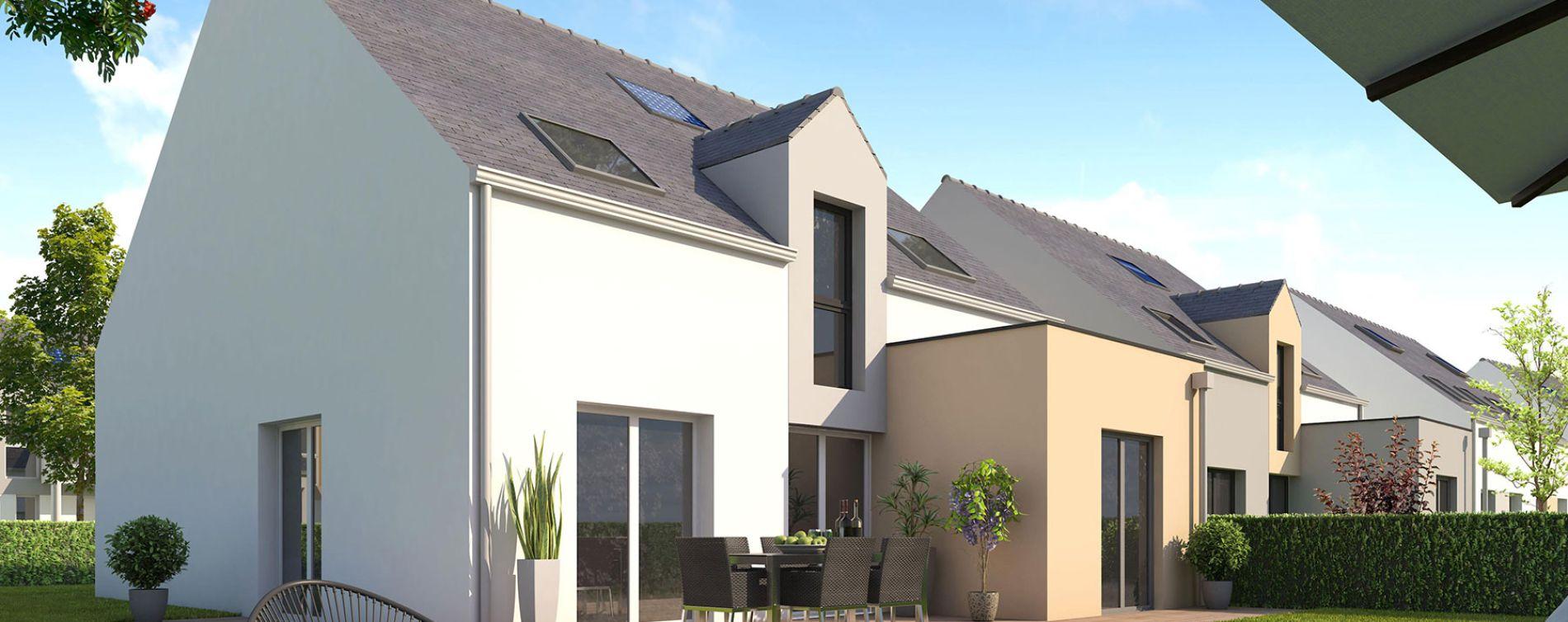 Pornichet : programme immobilier neuve « Le Domaine de Beauchamp »