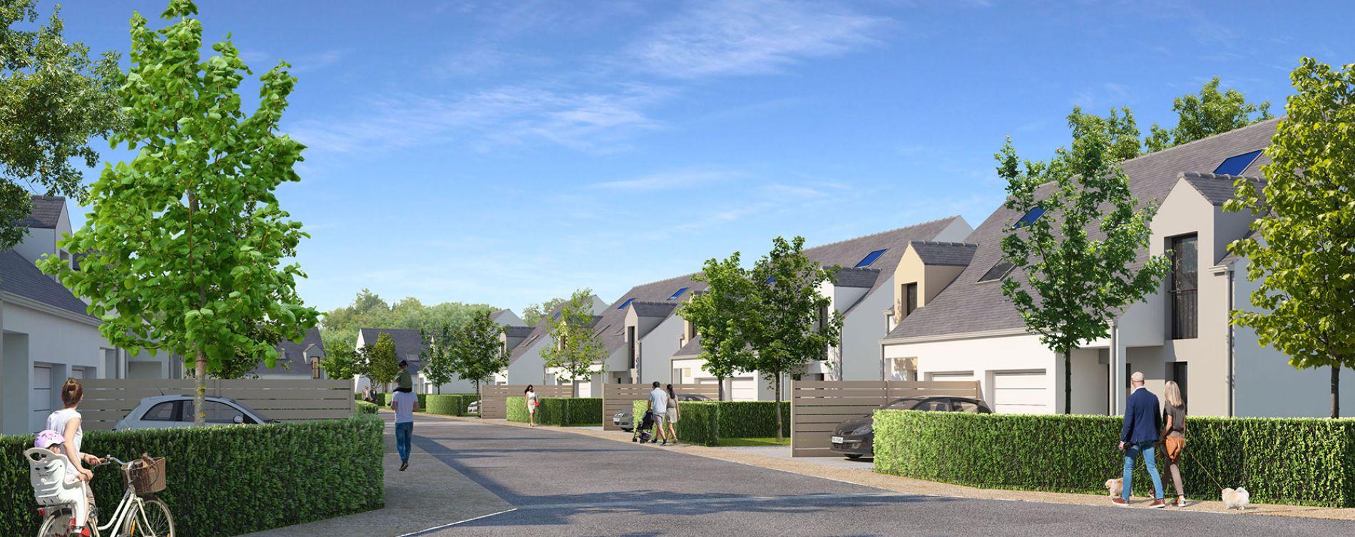 Pornichet : programme immobilier neuve « Le Domaine de Beauchamp » (2)