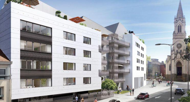 Photo du Résidence « Carré Daviais » programme immobilier neuf à Rezé