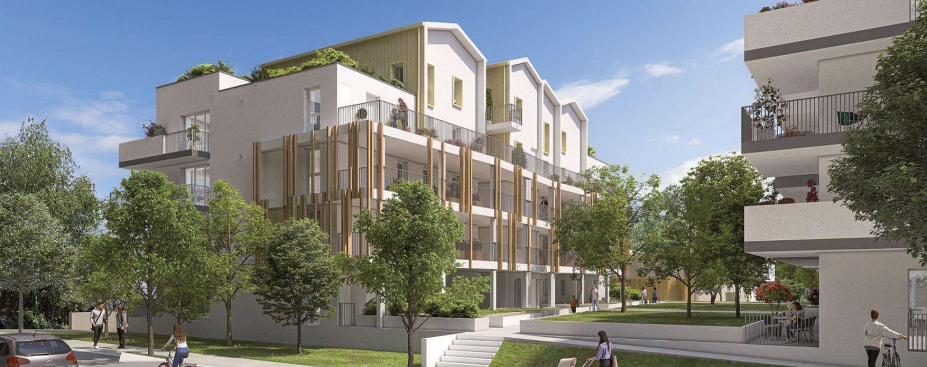 Rezé : programme immobilier neuve « Le Jardin de Charles »