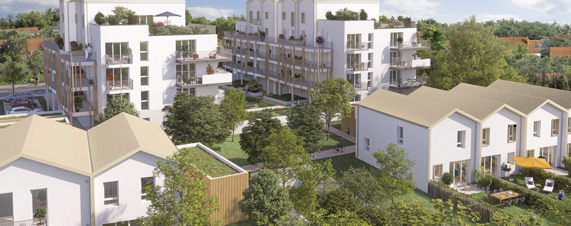 Rezé : programme immobilier neuve « Le Jardin de Charles » (2)