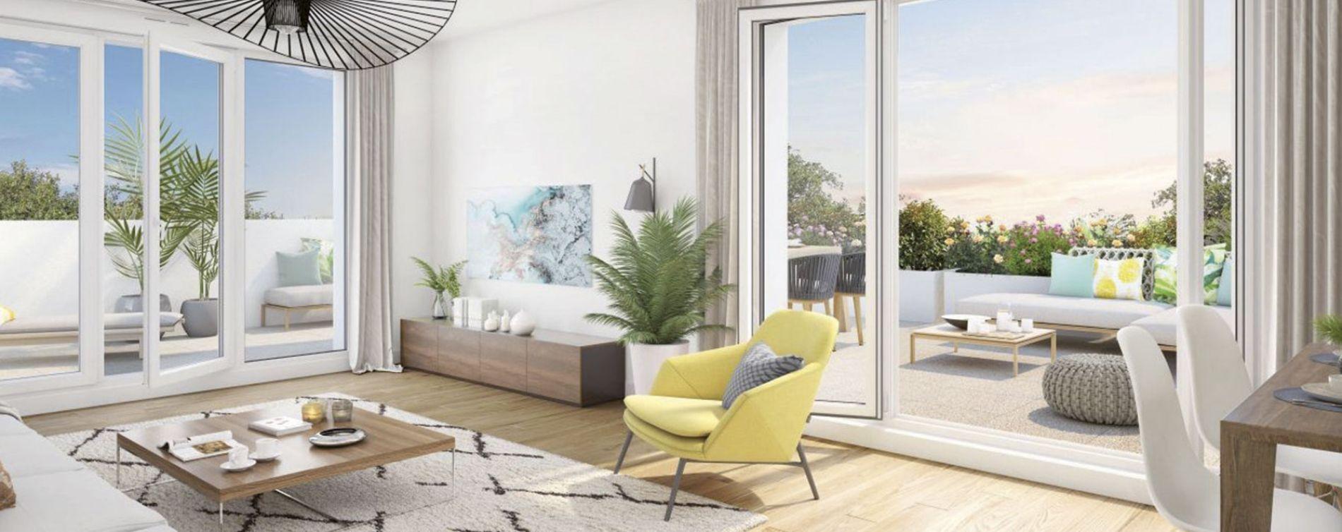 Rezé : programme immobilier neuve « Le Jardin de Charles » (4)