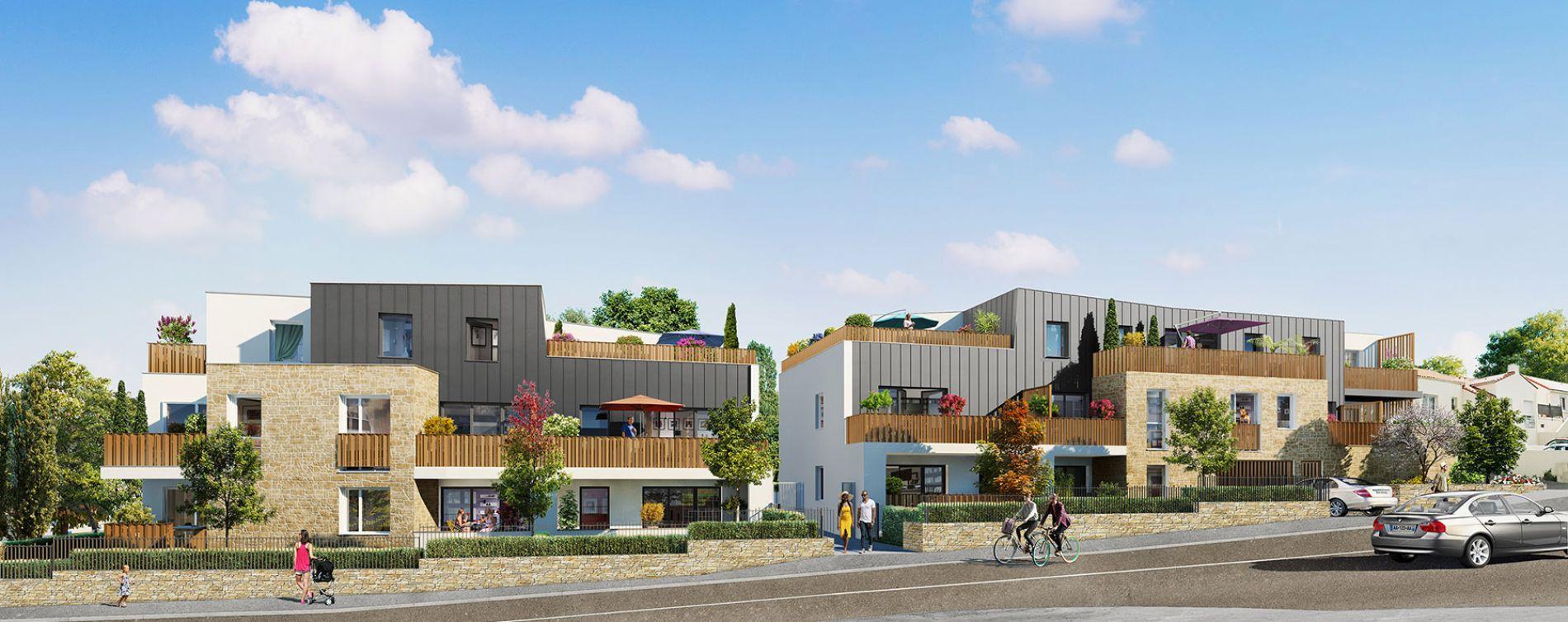 Saint-Herblain : programme immobilier neuve « Carré de Flore » en Loi Pinel