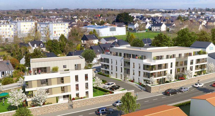 Photo n°2 du Résidence « Coeur Village » programme immobilier neuf en Loi Pinel à Saint-Herblain